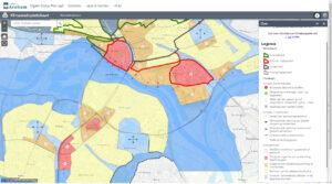kaart klimaatadaptatie Arnhem